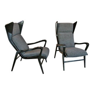 Italian Lacquered Armchairs