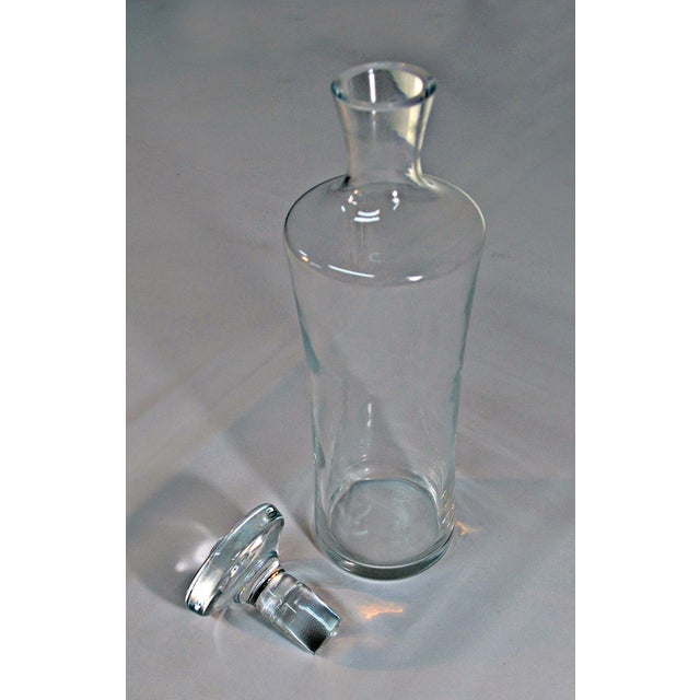 Image of Clear Glass Liquor Decanter