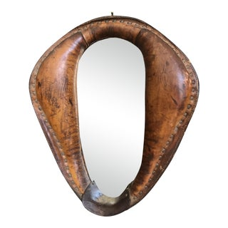 Leather Horse Collar Mirror