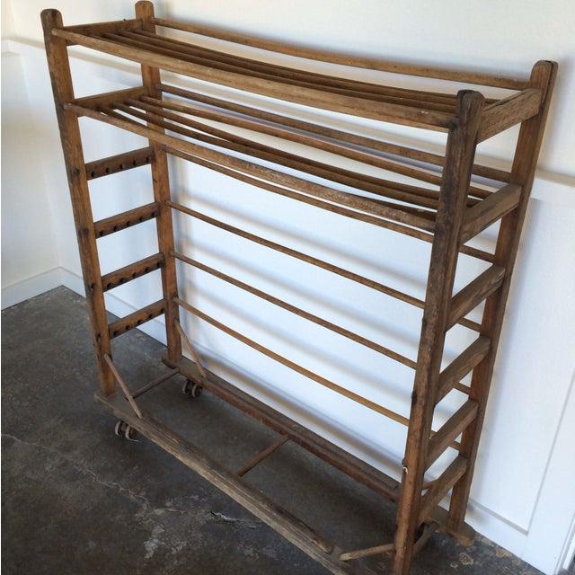 Antique Wooden Rack - Image 3 of 6