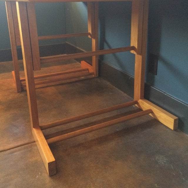 Mid-Century Camel Conversion Dining Table - Image 5 of 5