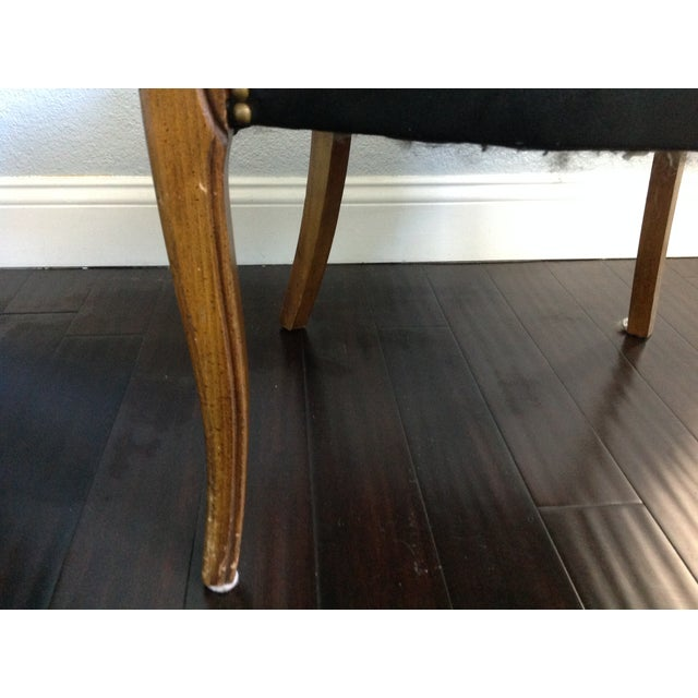 Mid-Century Style Black Armchairs - A Pair - Image 10 of 11