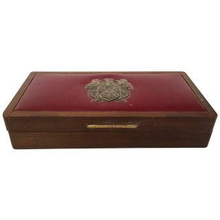 Vintage Leather Box