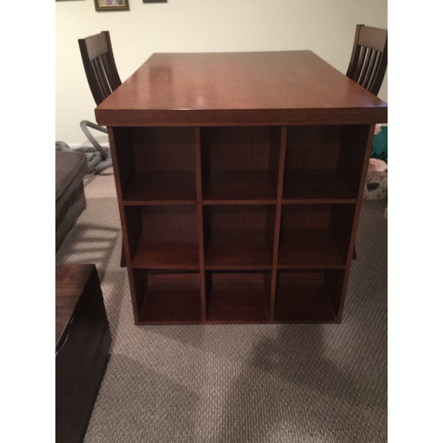Pottery Barn Project Table & Two Matching Chairs - Image 6 of 8
