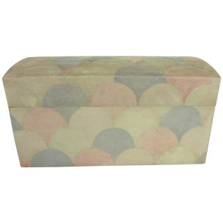 Maitland Smith Mid Century Shagreen Box