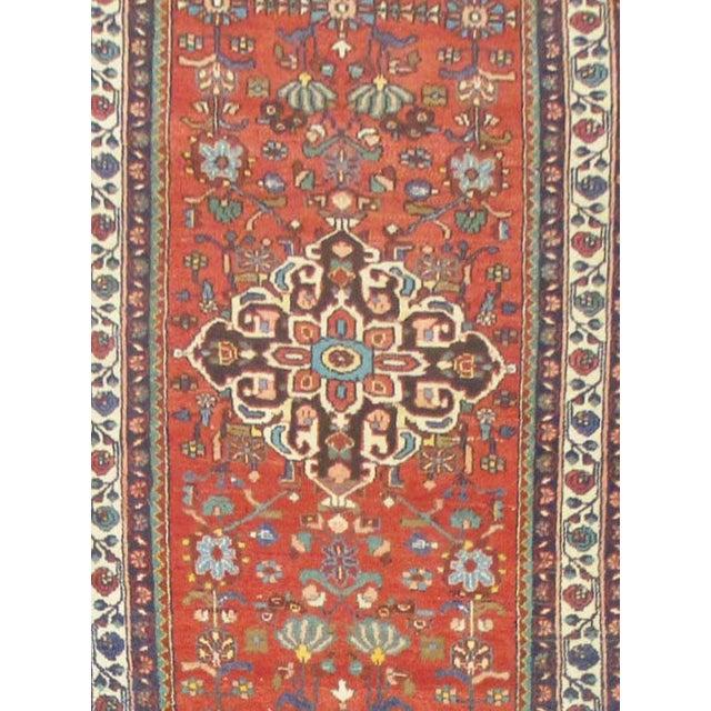 Vintage Persian Hamedan Rug - 3'7''x16'3'' - Image 2 of 2
