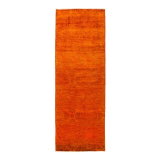 """Hand Knotted """"Vibrance"""" Runner Rug - 3' 1"""" X 8' 4"""""""