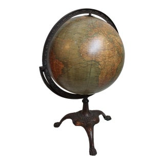 Vintage Weber-Costello World Globe
