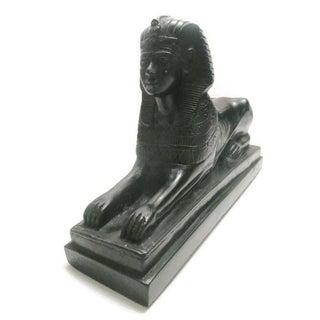 Vintage Black Marble Sphinx