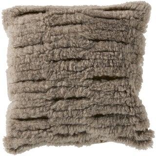 Wool Shag Pillow