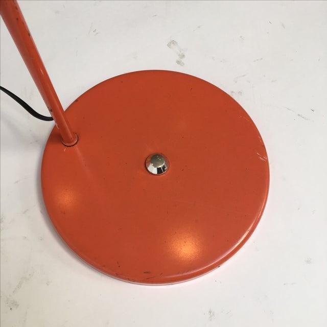 Vintage Orange Arc Lamp - Image 7 of 11