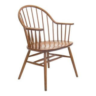 Claud Bunyard for Nichols & Stone Continuous Bow Back Windsor Chair