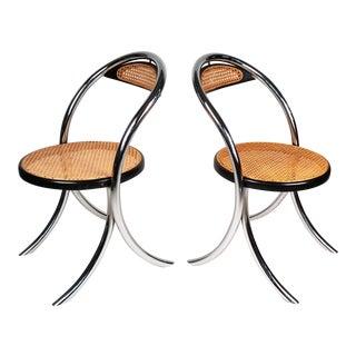 Four Italian Klismos Chairs