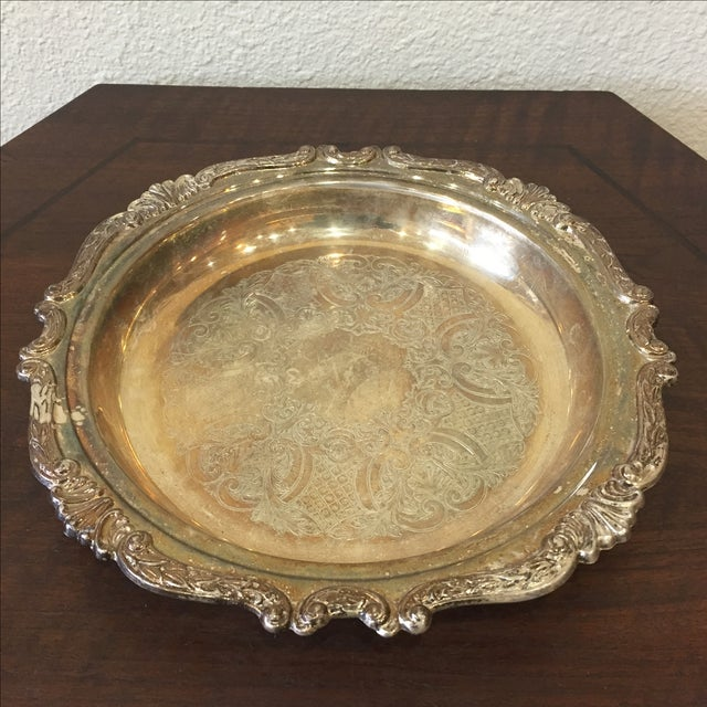 Silver Plated Dish - Image 2 of 7