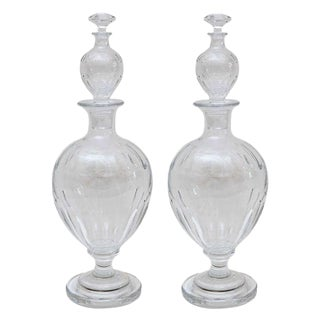 Antique Baccarat Decanters