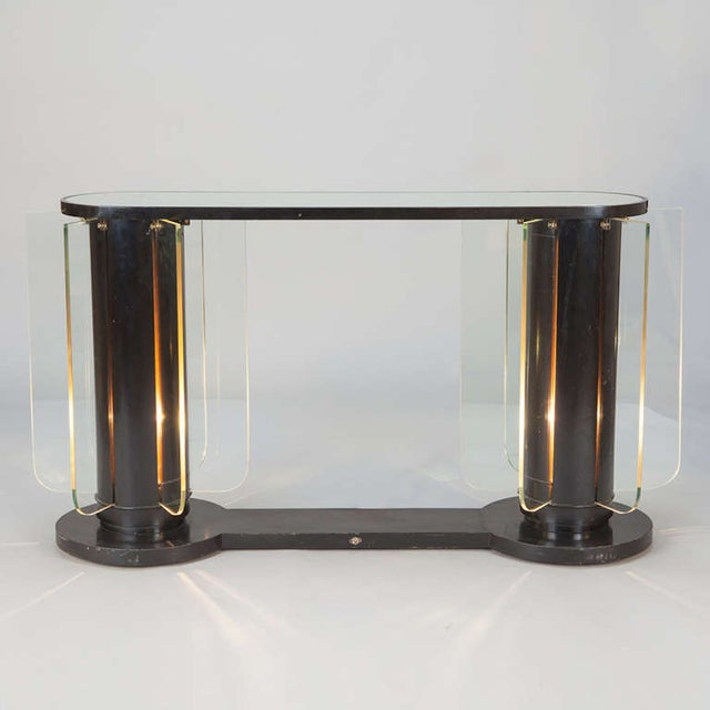 French Art Deco Light-Up Console - Image 2 of 5