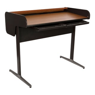 George Nelson Action Group Walnut Tambour Desk
