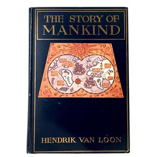 "Hendrik Van Loon ""The Story of Mankind"" Book"