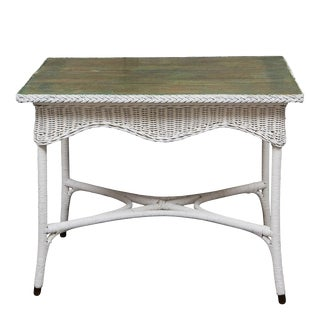 English Wicker Table