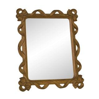 Syroco Co. Wood Mirror