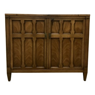 Drexel Flip-Top Bar Cabinet
