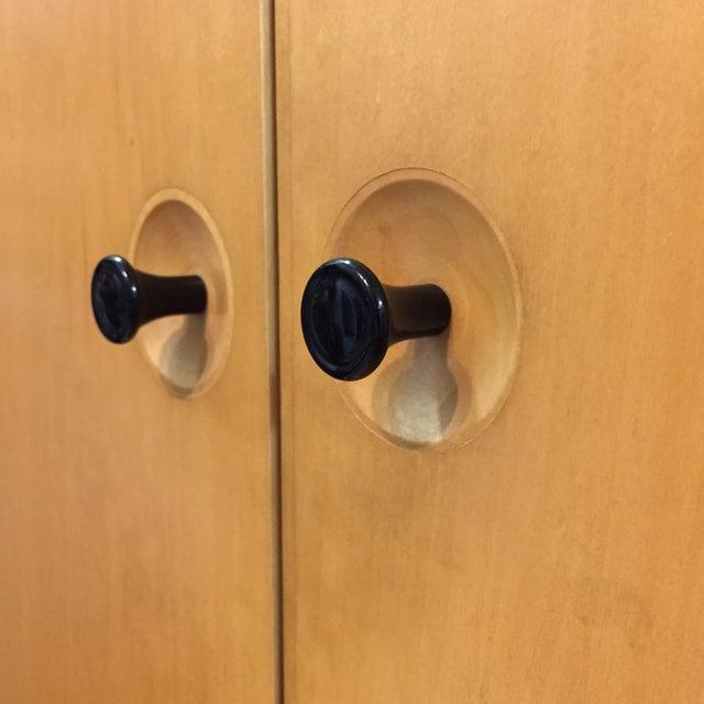 Image of Brayton MetroPo Two Door Maple Armoire