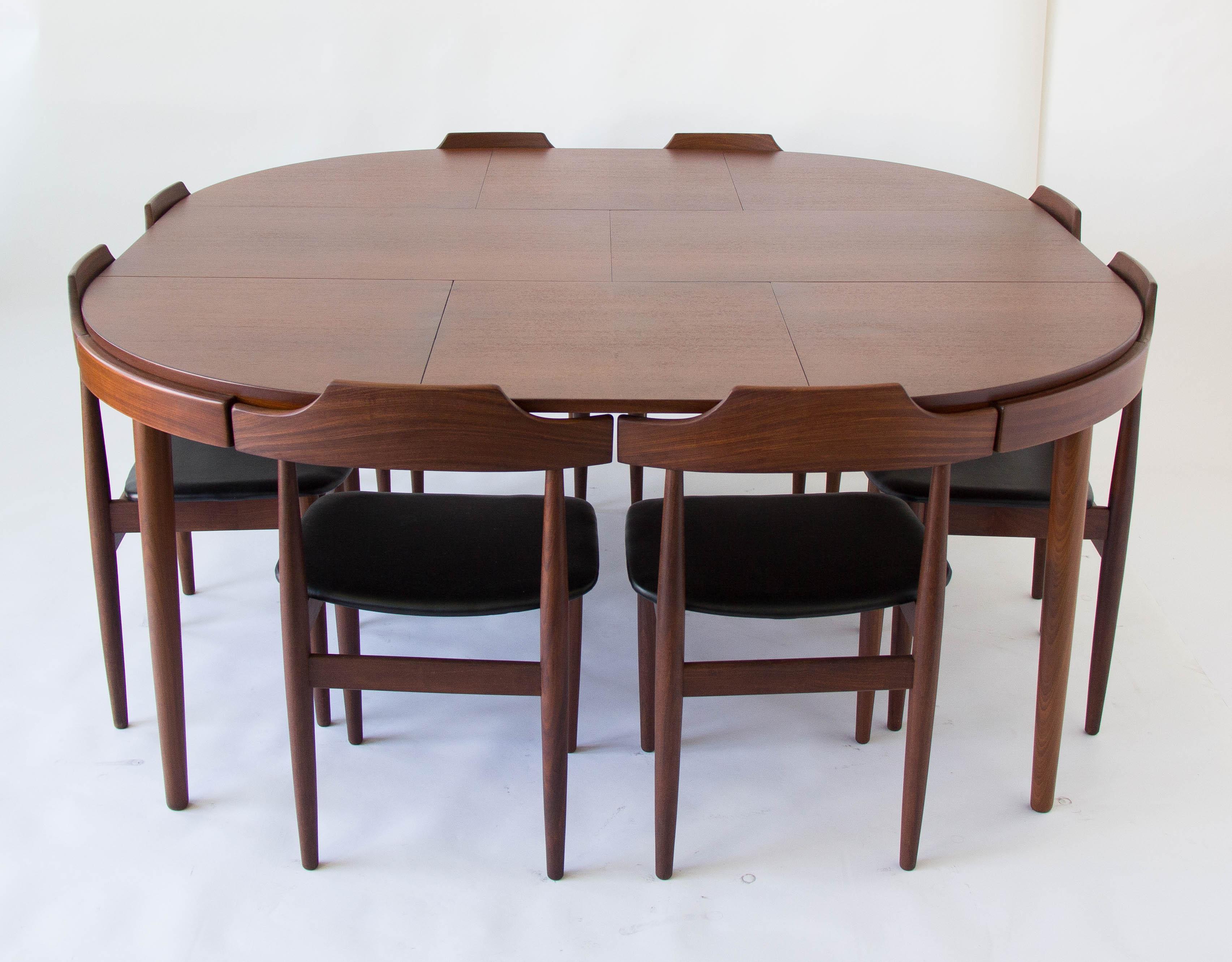Hans Olsen For Frem Rojle 8 Seat Dining Set   Image 2 Of 11