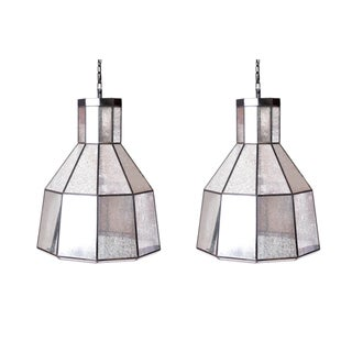 Craftsman Pendant Lamps - Pair