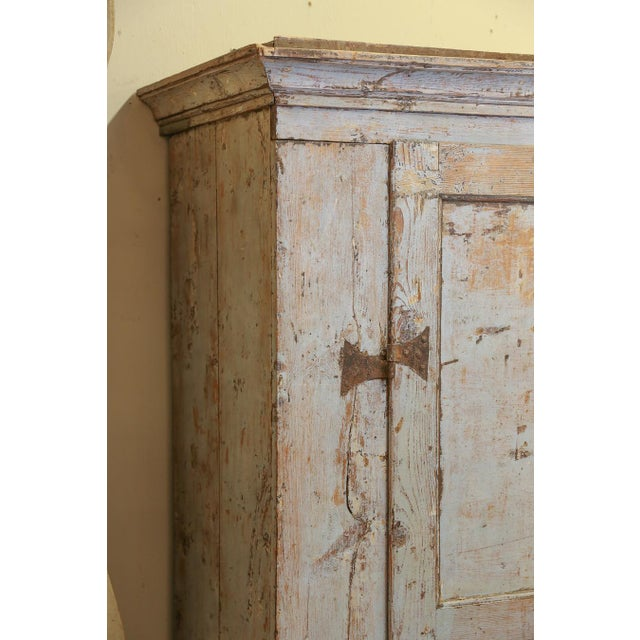 Image of Antique Provincial Painted Italian Armoire