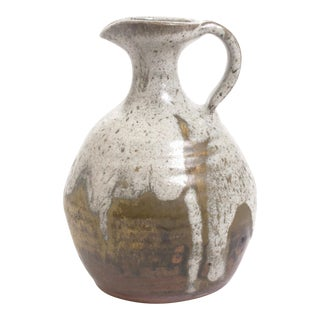 Vintage Mid-Century Ceramic Pitcher