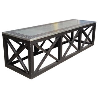 Greek Key Table Or Bench