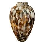 Image of Polish Hand-Blown Art Glass Vase