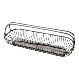 Silver Plate Wire Bread Basket