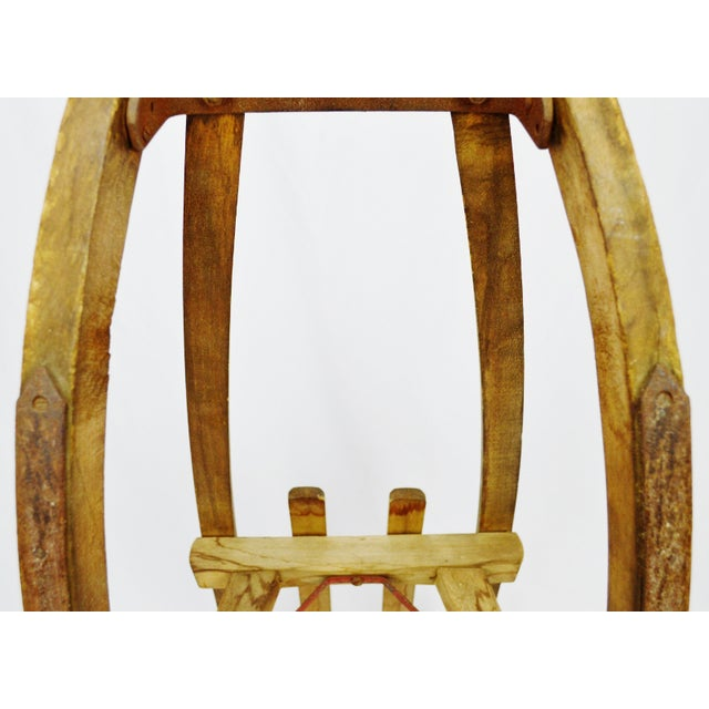Image of Early Children's Wooden Sled