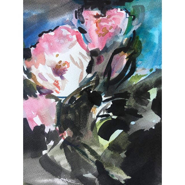 Blossoming #11 Original Painting - Image 3 of 5