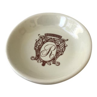 Monogrammed Accent Dish