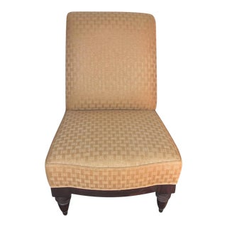 A. Rudin Slipper Chair in Nougat