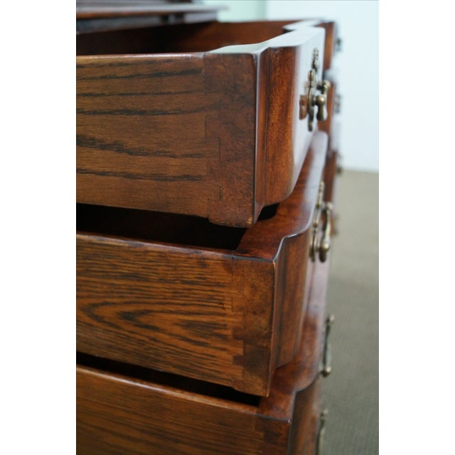Theodore Alexander Mahogany Chippendale Highboy - Image 7 of 10