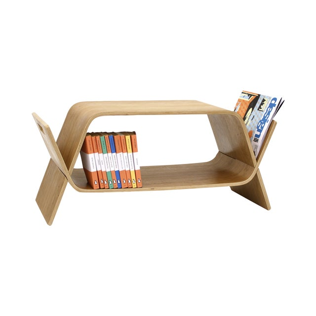 Image of Offi Walnut Embrace Media Table - Retail $299