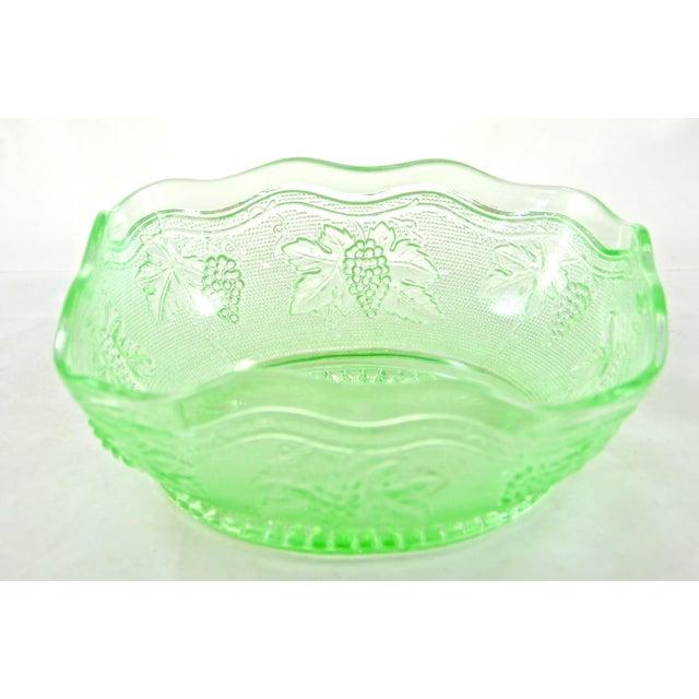 Image of Green Grape Embossed Bowl