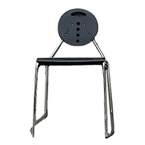 Bimbi Gioacchini Charlie Black Stacking Chair