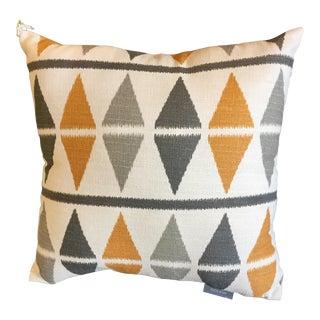 Mid-Century Style Argyle Pillow