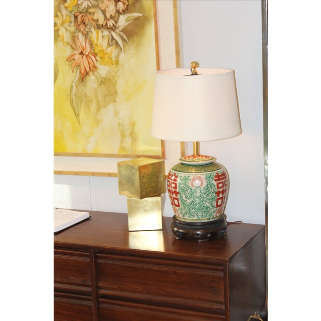 Norman Perry Ginger Jar Lamp - Image 5 of 5