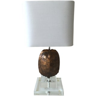 Gold Tortoise Mini Table Lamp