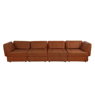 Percival Lafer Patchwork Leather Sofa