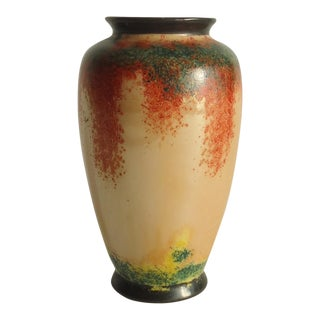 Art Deco Japanese Lustreware Vase