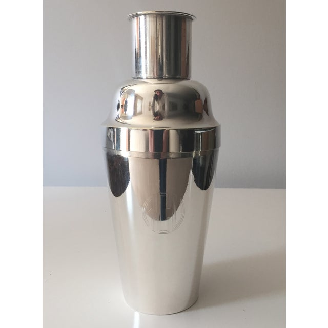 Image of Vintage Chinese Silver Cocktail Shaker