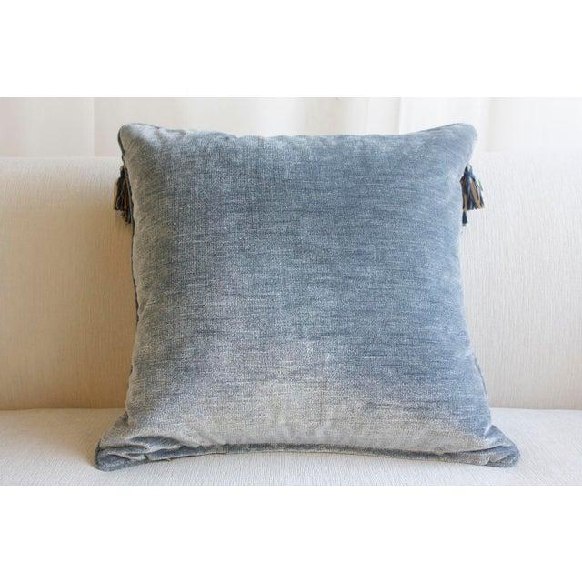 Throw Pillows With Tassels : Pair of Velvet Tassel Throw Pillows Chairish