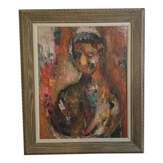 Mid-Century Portrait Attrib. Nora Schock