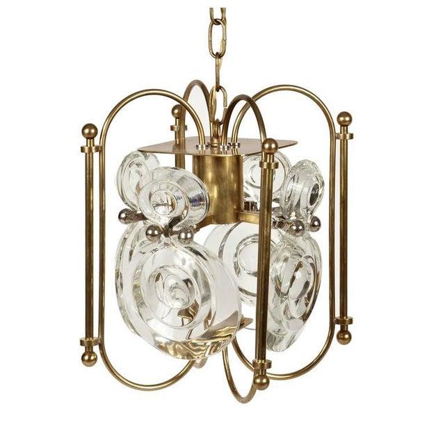 Gaetano Sciolari Lantern Chandelier - Image 3 of 8